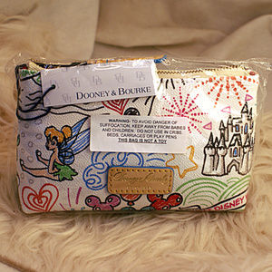 NEW Disney Dooney & Bourke Cosmetic Handbag Purse